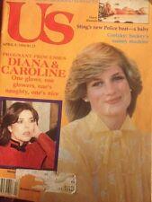 Us 1984 Princess Diana Caroline Dolly Parton Cher Wayne Gretzky Sting Val Kilmer