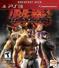PLAYSTATION 3 PS3 FIGHTING GAME TEKKEN 6 BRAND NEW SEAL