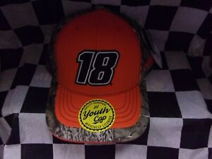 Kyle Busch # 18 True Timber Youth Hat
