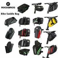 ROCKBROS Cycling MTB Road Bike Tail Bag Waterproof Saddle Bag Bicycle Rear Bag