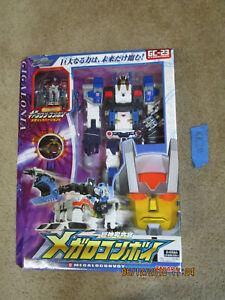 Takara Transformers Lot GC 23 MEGALO CONVOY Cybertron Galaxy Force Metroplex ez