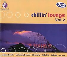 The World Of Chillin' Lounge Vol. 2 - 2CD ZYX CHILL OUT LOUNGE DOWNTEMPO