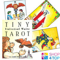 TINY UNIVERSAL WAITE TAROT DECK CARDS ORACLE ESOTERIC TELLING MINI SMALL NEW