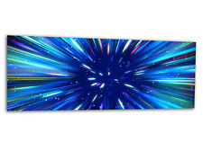 "Acrylic-glass Wallart Supernova Azul ag312500501 Xxl Panel 49,2 ""x19.7"" impresión"