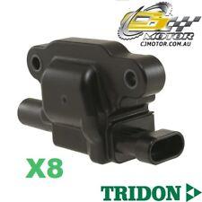 TRIDON IGNITION COIL x8 FOR Holden  Commodore - V8 VE 07/06-06/10, V8, 6.0L L98