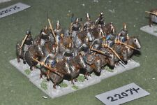 25mm roman era / roman - late cataphracts 12 figs cavalry - cav (22074)