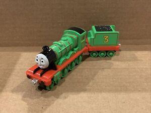 Henry & Tender - 2002 Used Take N Play Diecast Metal Thomas & Friends Engine