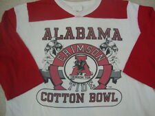 Vintage Alabama Crimson Tide Football Cotton Bowl Raglan T Shirt L