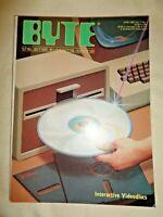 BYTE Magazine June 1982 Interactive Videodiscs Omni Aviation Navigation System