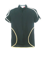ZEROrh Women's Cycle Athletic Jersey Bike-wear Top Short Sleeve Full Zip Size M