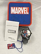 Marvel Spider-Man Men's W002553 Spider-Man Analog Display Analog Quartz Black