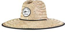 Salty Crew Bruce Straw Hat Mens Sz One Size Black