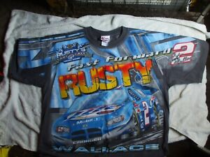 RUSTY WALLACE 2 CHASE AUTHENTICS/ NASCAR T.SHIRT - size XL