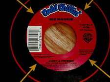 BIZ MARKIE~JUST A FRIEND~IN DEMAND NOW~COLD CHILLIN 22784~ SOUL 45