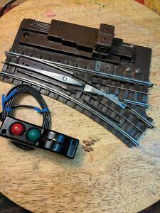 Lionel 112R Super O Switch, RH. Controller-bus bars-box. Model R, clean!!