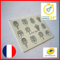 💅 LOT DE 2 NAIL ART - ORIENTAL - ONGLES DECO - STICKER AUTOCOLLANT