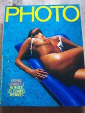 PHOTO MAGAZINE 1983 No 186 LA MAFIA DE PALERME JAPON DE LESTAMPE à la PHOTO