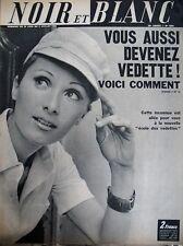 PHILIPPE LEMAIRE ET LES FEMMES DEVENIR VEDETTE NOIR ET BLANC N° 1265 de 1969