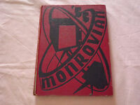 VINTAGE BOOK 1955 JAMES MONROE HIGH SCHOOL BRONX NY THE MONROVIAN YEARBOOK