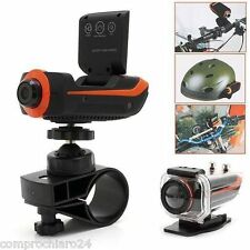 Full HD Pro Sport Camera Impermeabile Waterproof 30mt + microSD 8GB Camera