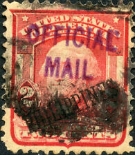 Ph #240 Off. Mail Ov Pt In Prpl Crse & Thin Rare Bm1103