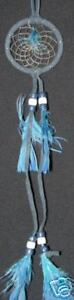 "DC 2 NEW 2"" DREAM CATCHER Dk. Blue COLOR with feathers Bedroom Blessing"