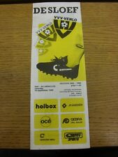 16/09/1989 VVV Venlo v Heracles  . Thanks for viewing our item, buy with confide