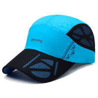 Unisex Ultra-thin Breathable Quick-drying Mesh Baseball Cap Outdoor Carved