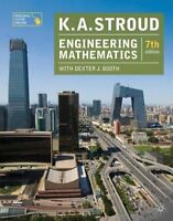 Engineering Mathematics New Paperback Book K.A. Stroud, Dexter J. Booth