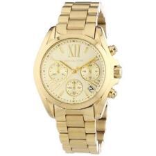 Michael Kors Watches MK5798 Ladies Gold Mini Bradshaw Watch