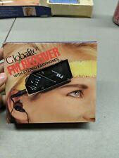 Vintage Globalite Fm Receiver Headband Radio With Headphones NOS