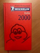 Guide Michelin Italia 2000