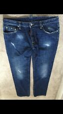 DSQUARED 2 UOMO Jeans Taglia 50 ULTRA RARA AUTENTICA mod. 74 LA242 SUPERB Denim