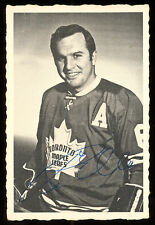 1970 71  OPC O PEE CHEE HOCKEY #46 Ron Ellis DECKLE EDGE EX TORONTO MAPLE LEAFS