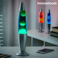 Lavalampe Magma Lava Lampe Glas 34 cm Retro Lavaleuchte Leuchte versch. Farben