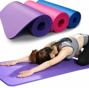 Yoga Mat Anti-skid Sports Fitness Mat 6MM Thick EVA Comfort Foam for Exercise