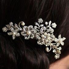 VERY  PRETTY PEARL  FLOWER BRIDE/BRIDESMAID HAIR COMB