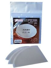 Cloth/Flannel Filters for V01 Coffee Dripper (1-2 cups) x3 pcs