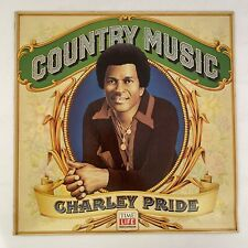 CHARLEY PRIDE COUNTRY MUSIC 1981 TIME LIFE  RECORDS VINYL LP KISS  ANGEL MORNING