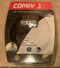 Compaq USB 2.0 PCMCIA Dualport Cardbus CPQUSBCB NEW Factory Sealed