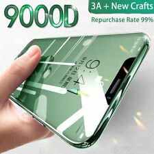 9000D Full Screen Protector Glass Cover Tempered iPhone 11 Pro X XR XS SE 2020