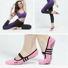 1Pair Women Fitness Sports Message Ballet Yoga Fitness Non-Slip Grip Socks JJ