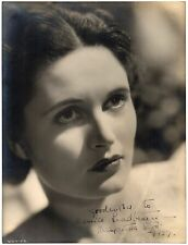 MARGARETTA SCOTT 1937 ORIGINAL SIGNED PORTRAIT