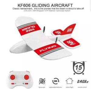Radio control Rc Plane KF-606 EPP Foam Kids Toy Hard to Break UK Stock 🇬🇧