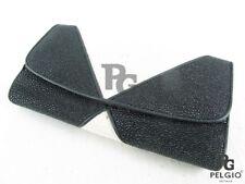 PELGIO Genuine Stingray Skin Leather Women's Trifold Clutch Wallet Black & White