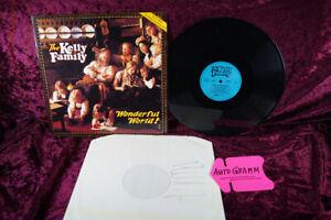 THE Kelly Family...LP...Wonderful World! ( mit Autogramm  )