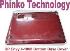 New Bottom Base Case Cover for HP Envy 4 Envy 4-1000 RED