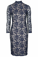 Lace Crew Neck Petite Stretch, Bodycon Dresses for Women
