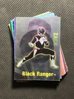1994 POWER RANGERS SERIES 2 MAGIC MORPHER COMPLETE (12) CARD SET JASON/TRINI++