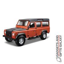1:32 Land Rover Defender 110 Building Kit faites votre propre Métallisé Voiture Modèle